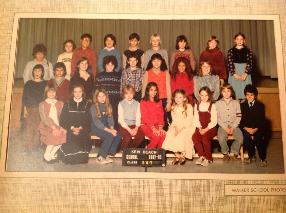 Malcolm is not in the middle, but he is in this class picture. As am I. Except that my septum is blissfully unaware that it's straight days are numbered and soon it will be bent as fuck.